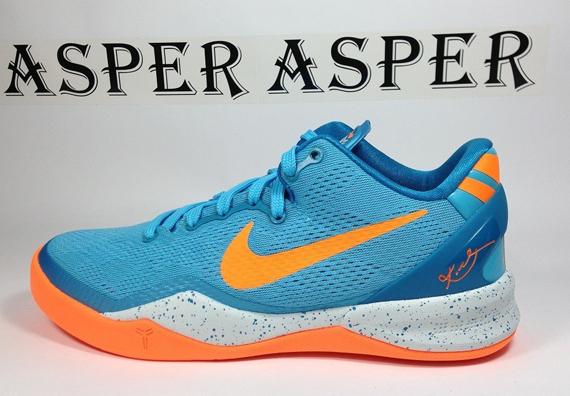 big sale cb985 e1b22 Nike Kobe 8 GS Baltic Blue Neo Turquoise-Windchill-Bright Citrus 555586-401