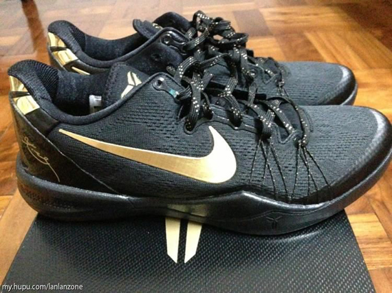 Nike Kobe 8 Elite - Black - Gold