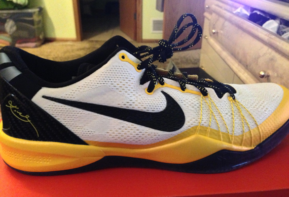 Nike Kobe 8 Elite - White - Black