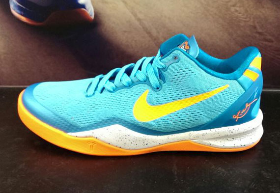 huge selection of 322ca 1c9b6 ... Nike Kobe 8 shown here. Photo  Sheung Chi