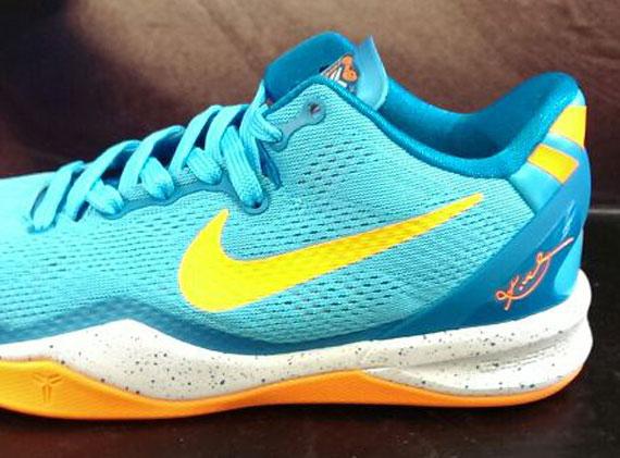 sale retailer 11c76 1b26a Nike Kobe 8 GS – Blue – Yellow