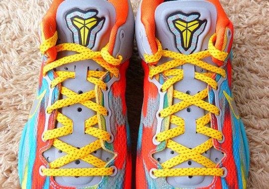 Nike Kobe 8 – Stadium Grey – Metallic Silver – Tour Yellow