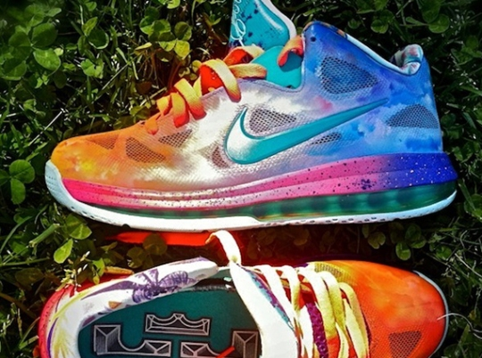 "Nike LeBron 9 Low ""Horizon"" By District Customs"