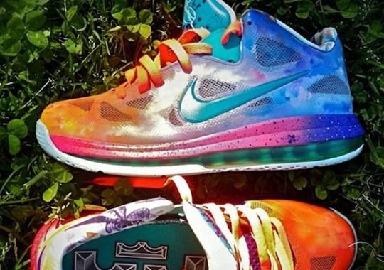 "Nike LeBron 9 Low ""Horizon"" By District Customs"
