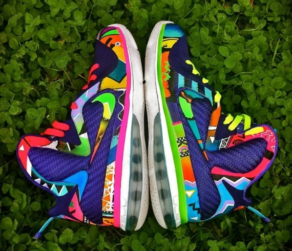 "Nike LeBron 9 ""What the 90s"" by District Customs ..."