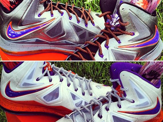 Nike LeBron X Diana Taurasi PEs