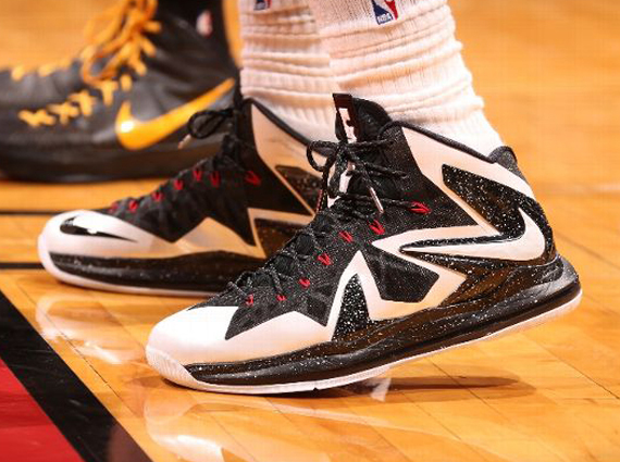 125eee89f7f6a LeBron James Eastern Conference Finals Nike LeBron X Elite