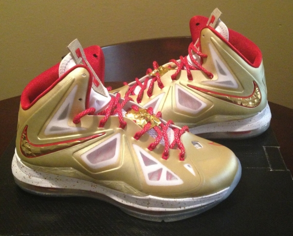 info for 772d2 b10f6 chic Nike LeBron X quotRing Ceremonyquot PE Available on eBay
