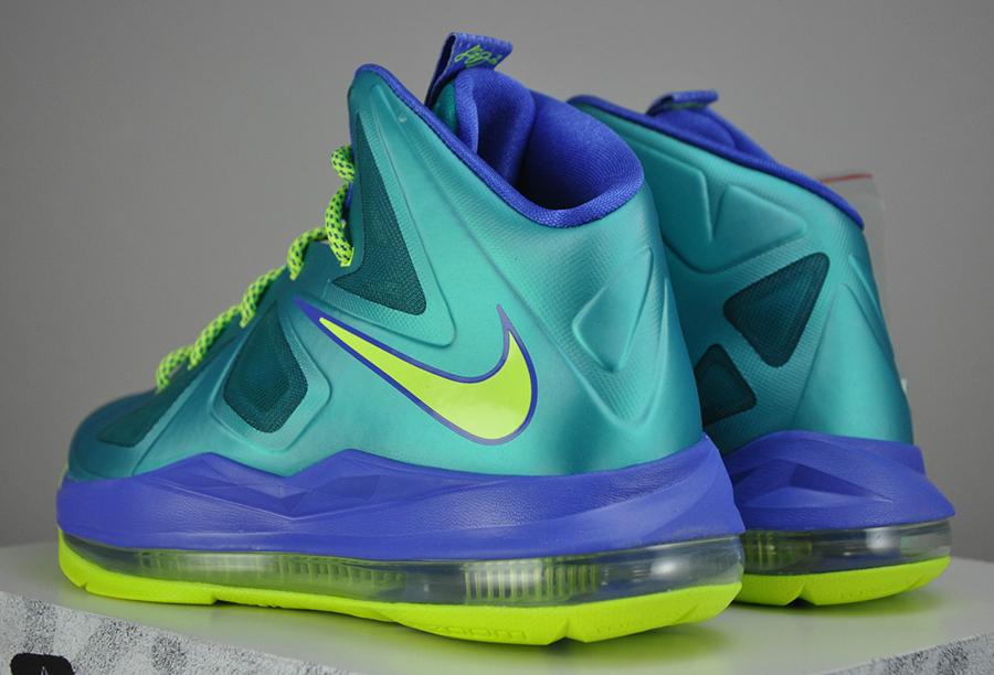Nike LeBron X GS - Sport Turquoise - Volt - SneakerNews.com  Lebron 10 Elite Turquoise
