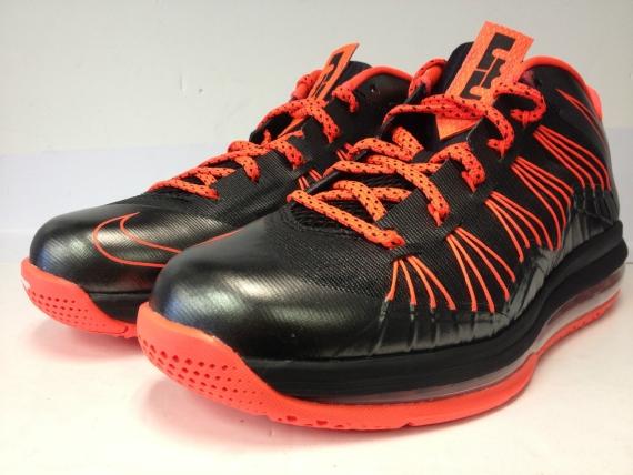 super popular e6adf 4e83b ... Nike LeBron X Low – Black – Total Crimson Release Reminder NIKE AIR MAX  ...