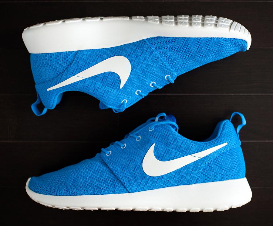 Nike Roshe Courir Héros Bleu À Vendre
