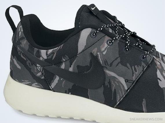 pretty nice e6118 64763 Nike Roshe Run GPX – Black – Sail – Mercury