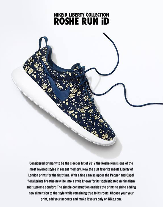 8afdba899fdc2 Liberty x Nike Roshe Run iD - Available - SneakerNews.com