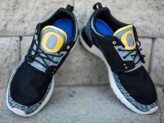 "Nike Roshe Run ""Oregon Ducks Pit Crew"" by JP Custom Kicks"