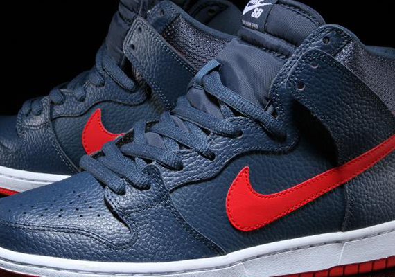 Nike Dunk High SB Red Blue Shoes
