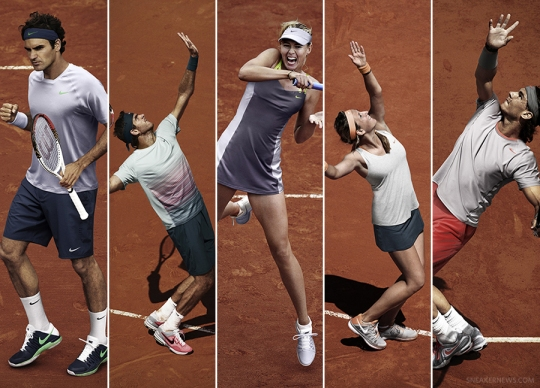 Nike Tennis French Open 2013 Collection