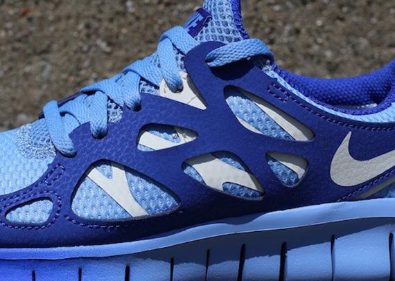 872a9050acfd Nike WMNS Free Run+ 2 EXT - Light Blue - Hyper Blue - SneakerNews.com