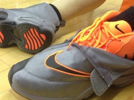 "sports shoes 1a520 f6dc0 Nike Zoom Flight  98 ""The Glove"" – Grey – Orange"