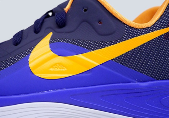 Nike Zoom Hyperfuse 2012 Low – Blackened Blue – Bright Citrus
