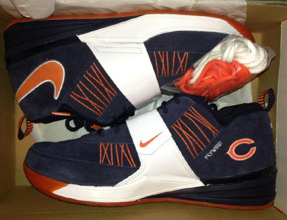 """new concept 6fb66 fd335 Nike Zoom Revis """"Chicago Bears"""" ..."""