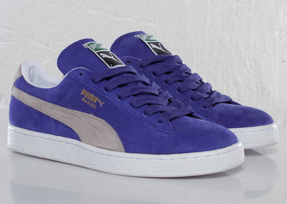 1ed885d9df19 Puma Suede Classic Eco - Purple - Grey - SneakerNews.com