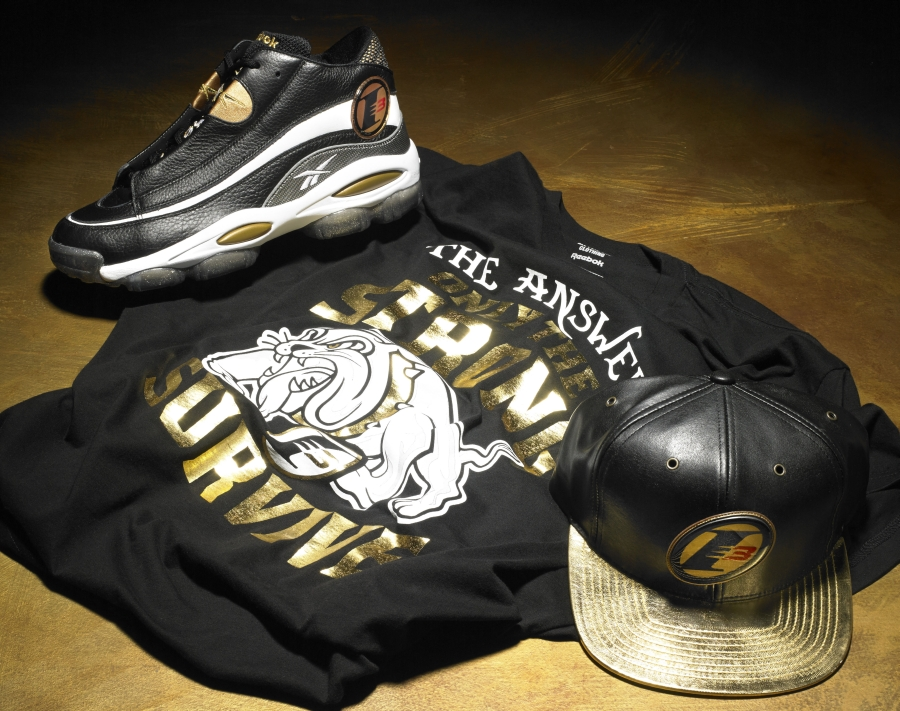 f746a534663 Reebok Answer 1 - Black - Gold - SneakerNews.com