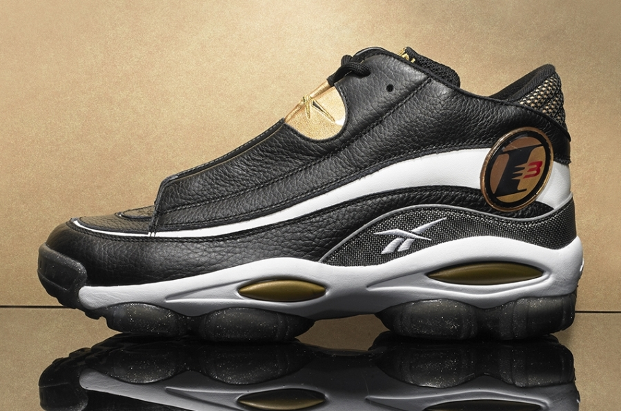 Reebok Answer 1 - Black - Gold - SneakerNews.com