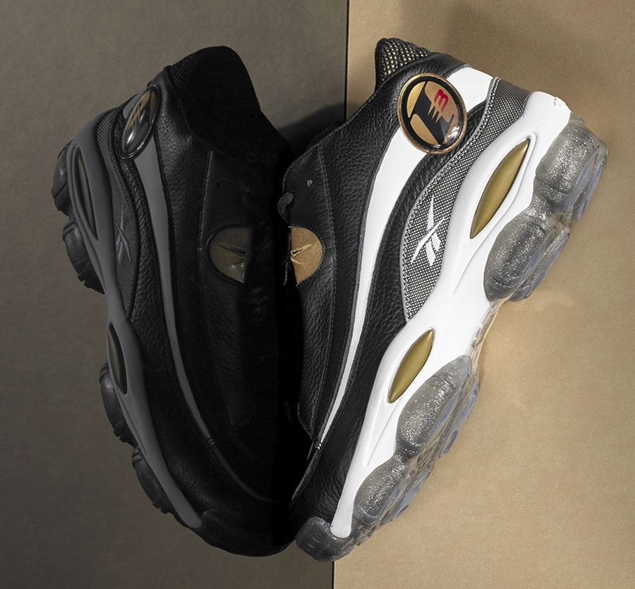 Reebok Answer 1 - Black - Gold - SneakerNews.com