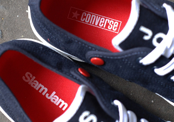 Slam Jam x Converse First String Jack Purcell   Summer Journey   Available  chic dc1c617100
