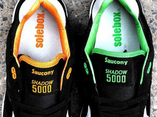 Solebox x Saucony Shadow 5000 – Teaser