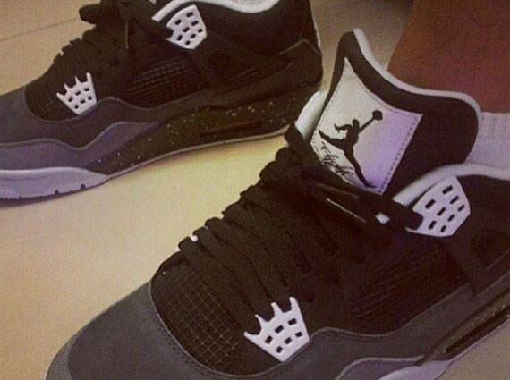 "Air Jordan IV ""Stealth Oreo"""