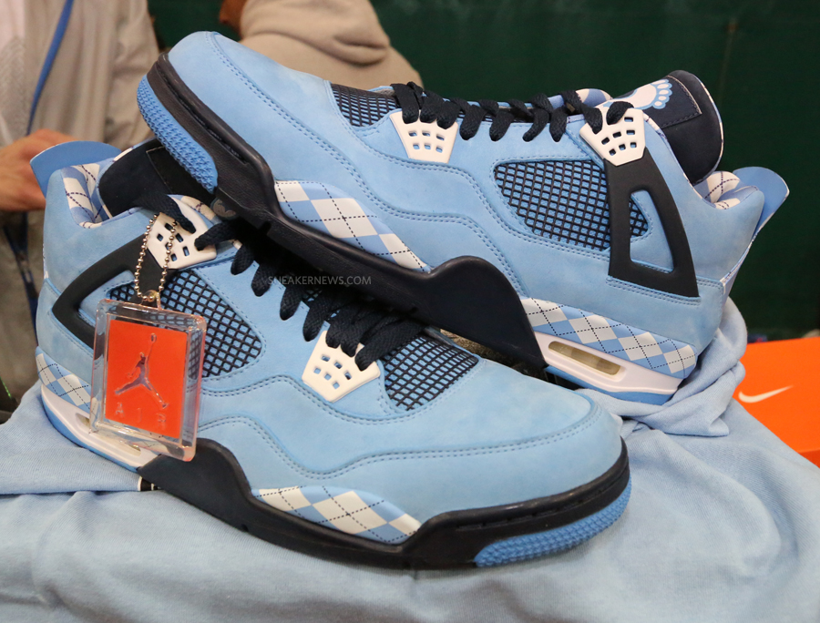 ... photos yet of the university blue sneaker made for the Tar Heels team . ebe73cf29
