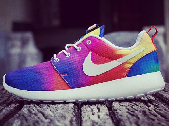 "size 40 a5a3f 1fa2b ""Tie-Dye"" Nike Roshe Run"