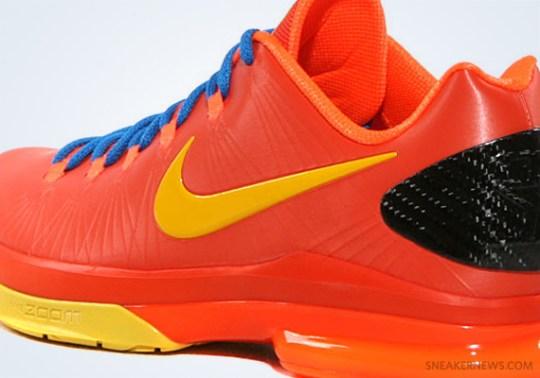 """""""Total Orange"""" Nike KD V Elite"""