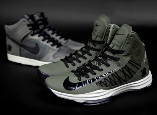 "UNDFTD x Nike ""Ballistic Bring Back"" Pack"