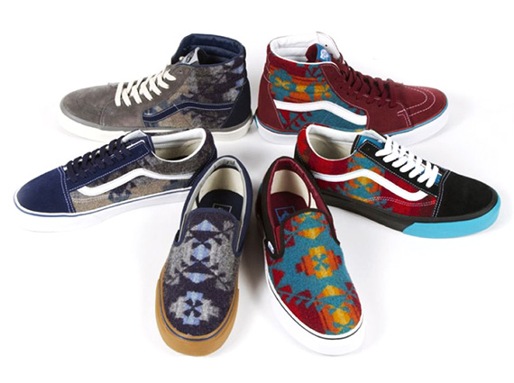 008633e26bfda Pendleton x Nibwaakaawin x Vans 2013 - Charity Auctions ...
