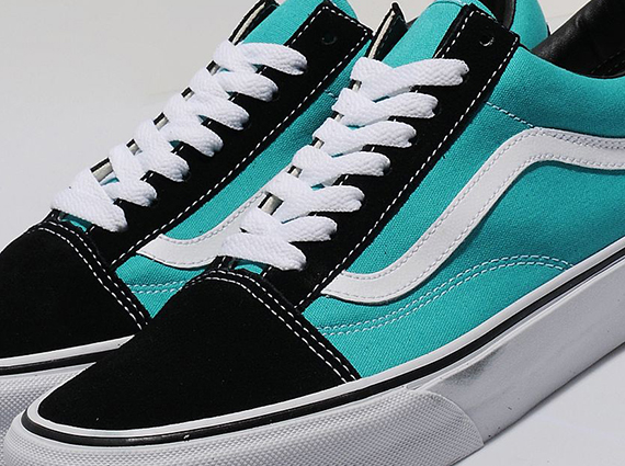 vans old skool black and blue