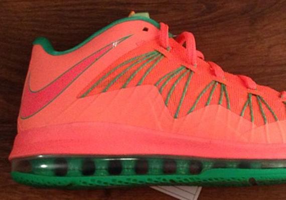 """Nike LeBron X Low """"Watermelon"""" - SneakerNews.com"""