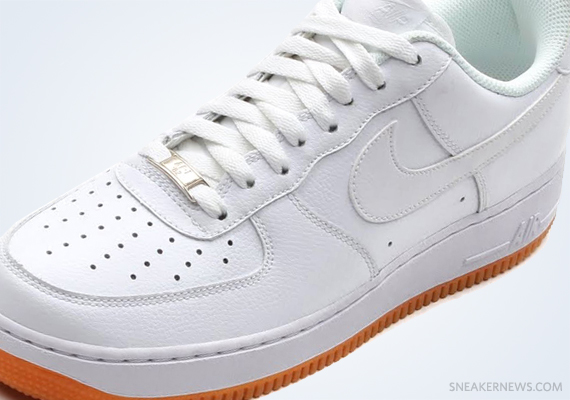 Nike Air Force 1 Low White Gum Sneakernews Com