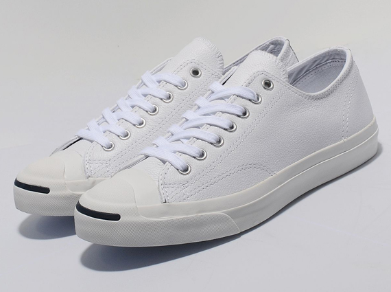 ecc7d49178221f new Converse Jack Purcell Premium Leather Ox