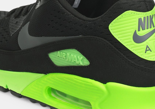 Nike Air Max 90 EM – Black – Flash Lime