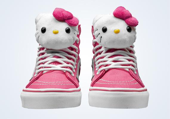 ffe7d0d6e5 Hello Kitty x Vans Summer 2013 Footwear Collection - SneakerNews.com