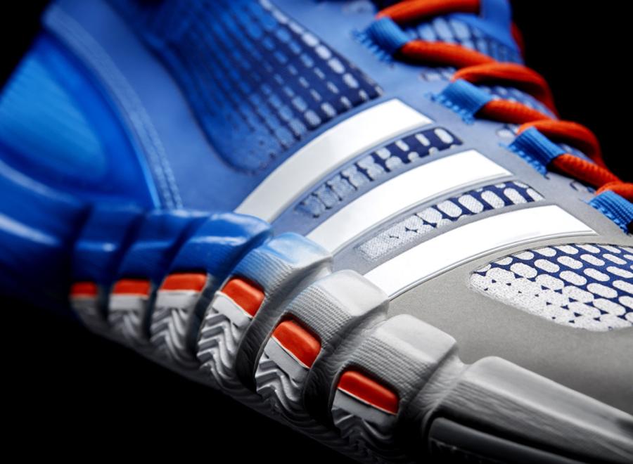 low priced 97819 9d5e3 adidas Crazyquick - Silver - Orange - Blue - SneakerNews.com