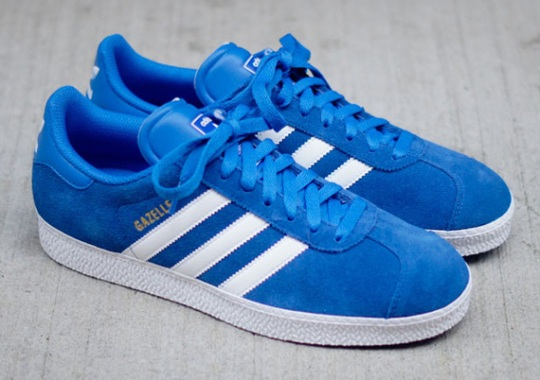 buy popular bac19 c6bbf adidas Originals Gazelle II – Blue – White