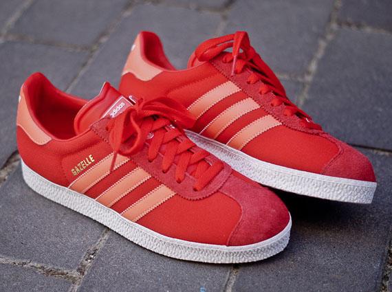 adidas gazelle 2 red