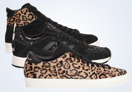 "adidas Originals Blue ""Leopard Pack"""