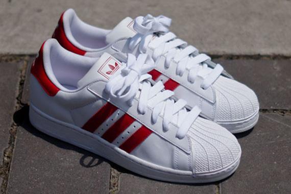 sale retailer 86957 a4c6a adidas Originals Superstar II - White - Red - SneakerNews.com