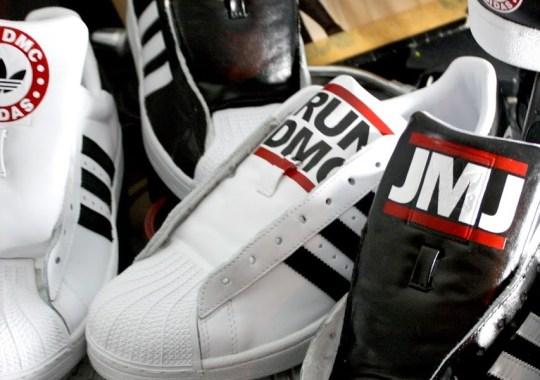 "adidas Originals Superstar 80s ""Adidas Suite"" for Run DMC by Revive Customs"