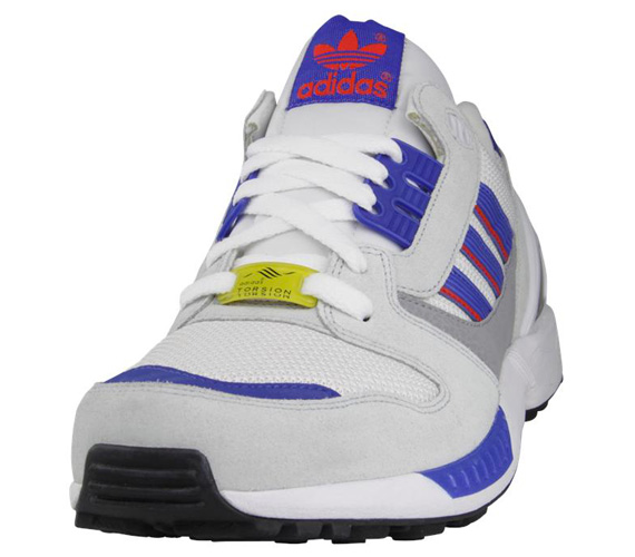 huge selection of 7d3c3 40de2 adidas Originals ZX 8000 - White - Poppy - SneakerNews.com