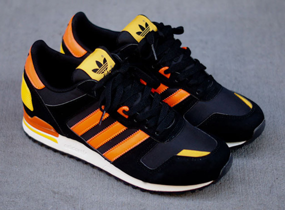 low priced fbbe4 27ba3 adidas Originals ZX 700 - Black - Orange - Yellow ...